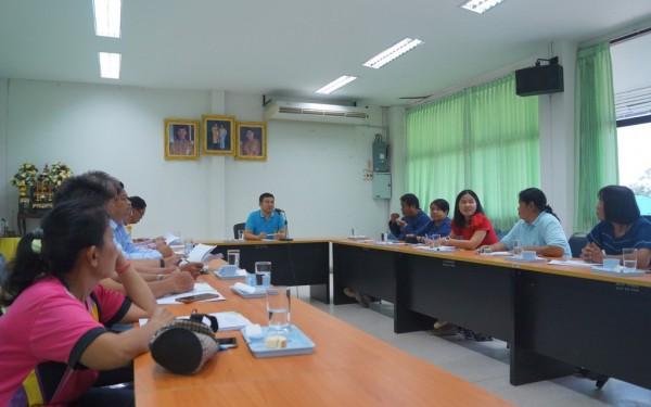 ประชุมคณะกรรมการพัฒนาองค์การบริหารส่วนตำบลห้วยยั้ง
