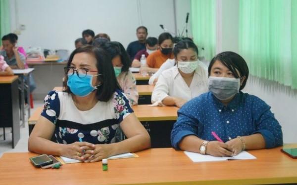 ประชุมพนักงานส่วนตำบล และพนักงานจ้าง ประจำเดือนมิถุนายน พ.ศ.2563