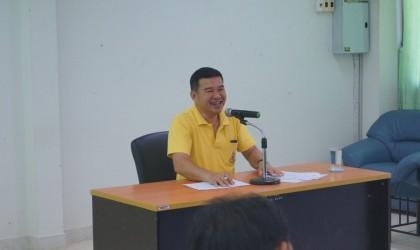 ประชุมสมาชิก อปพร.องค์การบริหารส่วนตำบลห้วยยั้ง